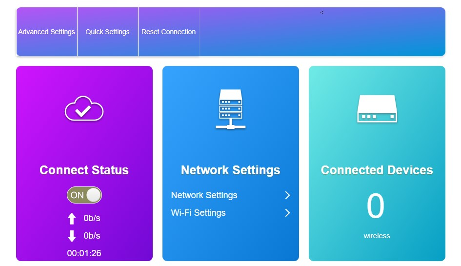 connect status